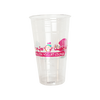30 CASES - 20OZ CUSTOM PET CLEAR CUPS 1000PCS/CS - 2 COLORS - 50% DEPOSIT REQUIRED - $91.75/CS - CarryOut Supplies