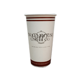 34 CASES - 20 OZ. CUSTOM PRINTED COFFEE CUPS - 50% DEPOSIT REQUIRED - $65.89/CS
