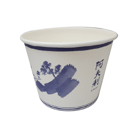20 OZ. CUSTOM PRINTED YOGURT CUPS - 50% DEPOSIT REQUIRED - FROM $0.0758 TO $0.064 CENTS PER CUP - CarryOut Supplies