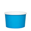 20 OZ. PAPER YOGURT CUPS 600 PCS/CS - BLUE - CarryOut Supplies