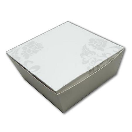 PAPER FOOD BOX ( 20 OZ. ) FLORAL PRINT