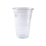 DISPOSABLE CLEAR PLASTIC COLD CUP FOR 20 OZ.