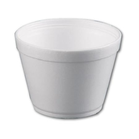 22 OZ FOAM ROUND BOWL - 500 / CS - (Item: 5522) - CarryOut Supplies