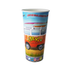 20 CASES - 22 OZ. CUSTOM PRINTED PAPER SODA CUPS 1000 PCS/CS - 50% DEPOSIT REQUIRED - $67.22/CS - CarryOut Supplies