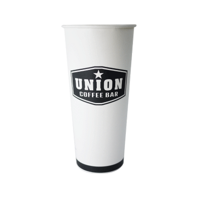 100 CASES - 24 OZ. CUSTOM PRINTED COFFEE CUPS 500pcs/cs - 50% DEPOSIT REQUIRED - $49.78/CS - CarryOut Supplies