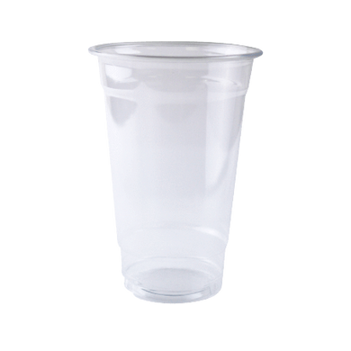 24 OZ (98MM) PET PLASTIC CUPS, CLEAR - 600/CS - CarryOut Supplies