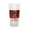 30 CASES - 24 OZ. CUSTOM PRINTED PP PLASTIC CUPS - 50% DEPOSIT REQUIRED - $52.87/CS - CarryOut Supplies