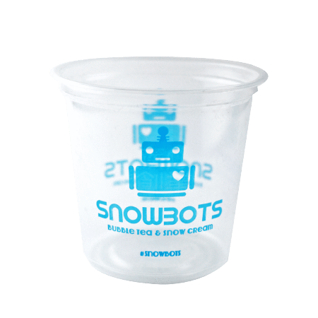 60 CASES - 25 OZ. CUSTOM PRINTED PP PLASTIC CUPS 500pcs/cs - 50% DEPOSIT REQUIRED - $60.00/CS - CarryOut Supplies