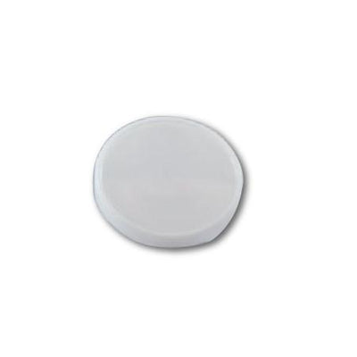 FLAT LIDS FOR PAPER ICE CREAM CONTAINER 3.5 OZ. ( WHITE ) - CarryOut Supplies