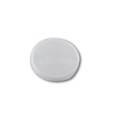 FLAT LIDS FOR PAPER ICE CREAM CONTAINER 4 OZ. ( WHITE ) - CarryOut Supplies