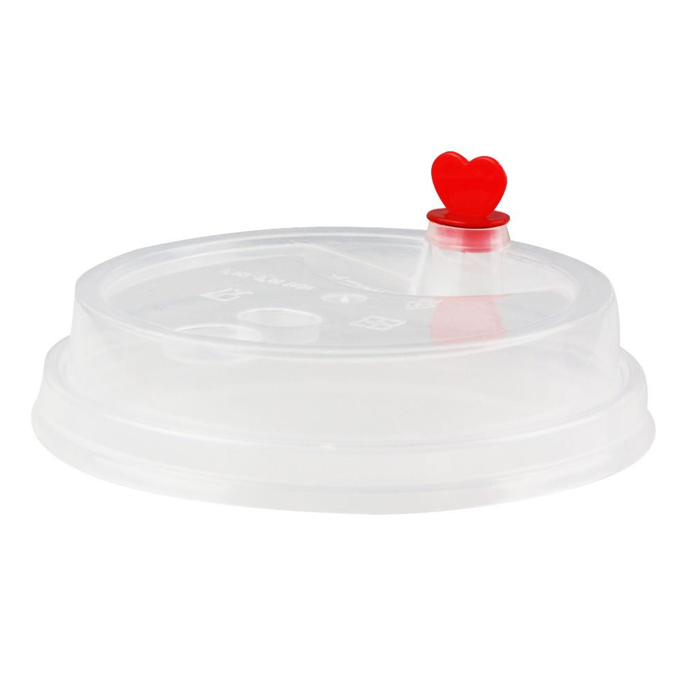 DOME LID FOR TALL PREMIUM PP CUPS, CLEAR - 1000/CS - (Item Code: 32802) - CarryOut Supplies