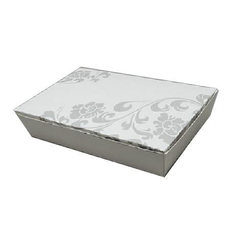 PAPER FOOD BOX (32 OZ.) FLORAL PRINT