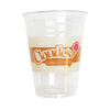 100 CASES - 32OZ CUSTOM PET CLEAR CUPS 300PCS/CS - 1 COLOR - 50% DEPOSIT REQUIRED - $55.00/CS - CarryOut Supplies