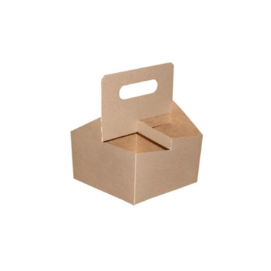 4 - CUP CARRIER WITH HANDLE - 175 PCS/CS (Item: CCARRY4) - CarryOut Supplies