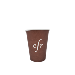 40 CASES - 4 OZ. CUSTOM PRINTED COFFEE CUPS - 50% DEPOSIT  REQUIRED - $55.00/CS - CarryOut Supplies