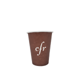 40 CASES - 4 OZ. CUSTOM PRINTED COFFEE CUPS - 50% DEPOSIT  REQUIRED - $55.00/CS