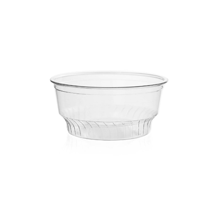 05 OZ PET PLASTIC SUNDAE CUP (92MM), CLEAR - 1,000/CS - CarryOut Supplies