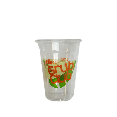 30 CASES - 8OZ CUSTOM PET CLEAR CUPS 1000PCS/CS - 2 COLORS - 50% DEPOSIT REQUIRED - $65.00/CS - CarryOut Supplies