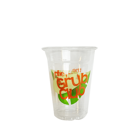 30 CASES - 8OZ CUSTOM PET CLEAR CUPS 1000PCS/CS - 4 COLORS - 50% DEPOSIT REQUIRED $70.00/CS - CarryOut Supplies