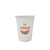 20 CASES - 8 OZ. CUSTOM PRINTED COFFEE CUPS - 50% DEPOSIT REQUIRED - $49.25/CS