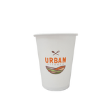 50 CASES - 8 OZ. CUSTOM PRINTED COFFEE CUPS - 50% DEPOSIT REQUIRED - $ 55.25/CS