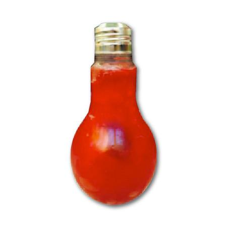 22 OZ. ( 660 CC ) LIGHT BULB BOTTLE 252 PCS/CS WITH METAL CAPWITH HOLE - CarryOut Supplies
