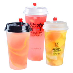 Custom Printed Premium PP Injection Cup - CarryOut Supplies
