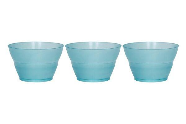 ROTONDA DESSERT CUPS 3 OZ - BLUE - 1,000 CUPS/CS - CarryOut Supplies