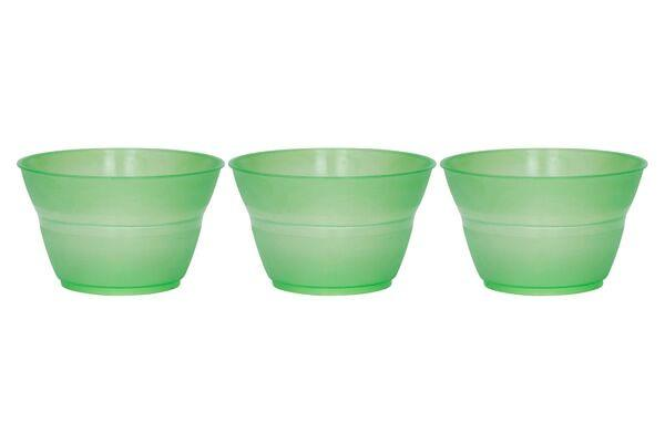 ROTONDA DESSERT CUPS 8 OZ - GREEN - 1,000 CUPS/CS - CarryOut Supplies