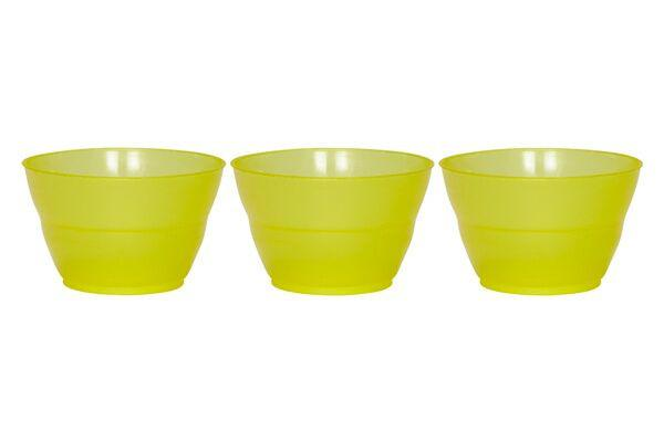 ROTONDA DESSERT CUPS 8 OZ - YELLOW - 1,000 CUPS/CS - CarryOut Supplies