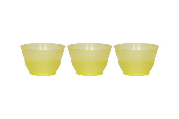 ROTONDA DESSERT CUPS 3 OZ - YELLOW - 1,000 CUPS/CS - CarryOut Supplies