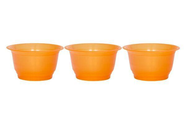 SAPPHIRE DESSERT CUPS 8 OZ - ORANGE - 600 CUPS/CS - CarryOut Supplies