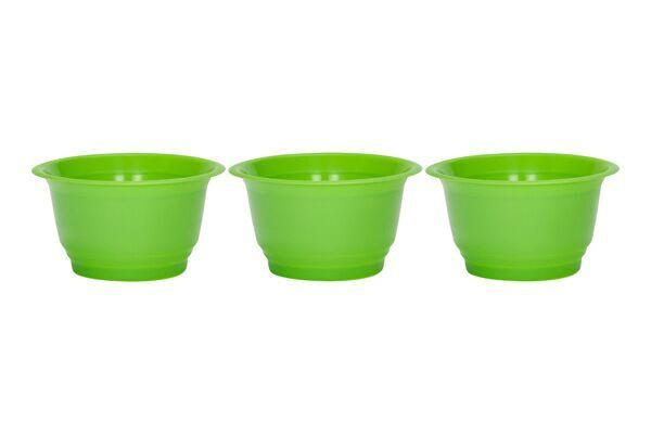 SAPPHIRE DESSERT CUPS 4 OZ - SOLID GREEN - 1,000 CUPS/CS - CarryOut Supplies