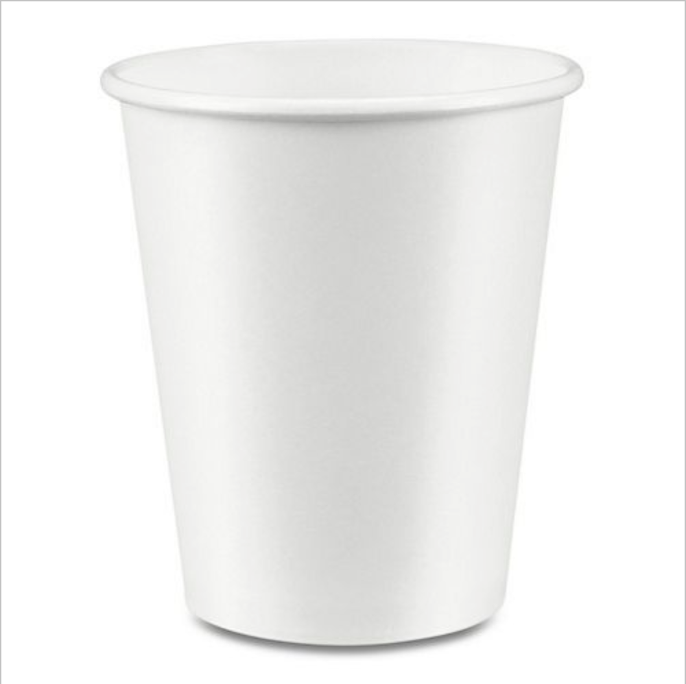 Hot Drink Cup (Single Wall) - CarryOut Supplies