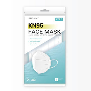 KN95 Face Respirator Mask - 1 pack - CarryOut Supplies