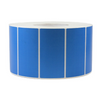 4''X2'' PAPER LABELS PRINTED - SOLID BLUE (4RL/3000PC) - (Item: 9420-SB) - CarryOut Supplies