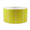 4''X2'' PAPER LABELS PRINTED - SOLID YELLOW (4RL/3000PC) - (Item: 9420-SY) - CarryOut Supplies