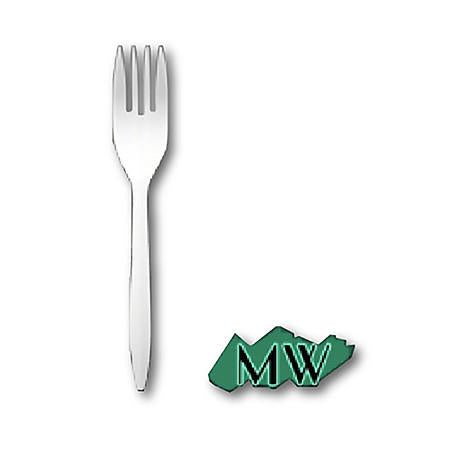 MEDIUM WEIGHT WHITE FORKS (6
