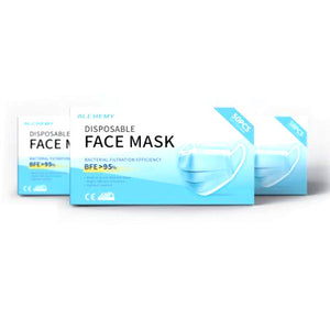 D1 Disposable Face Mask - (Packs of 50, 250, 2000, 10000 Available) - CarryOut Supplies
