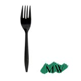 "MEDIUM WEIGHT BLACK FORK (6""), 1000 PCS/CS"