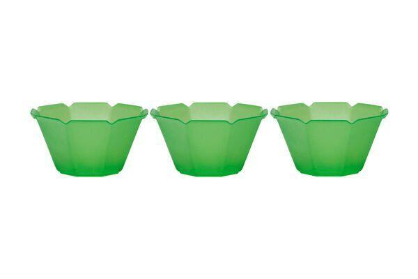 OCTOGONO CUPS 3 OZ - GREEN - 1000 CUPS / CS - CarryOut Supplies