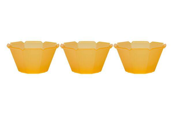 OCTOGONO CUPS (7 OZ) - ORANGE - 1000 CUPS / CS - CarryOut Supplies