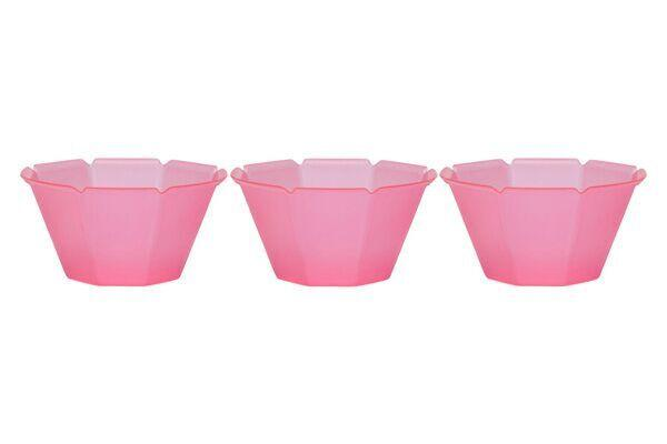 OCTOGONO CUPS (7 OZ) - PINK - 1000 CUPS / CS - CarryOut Supplies