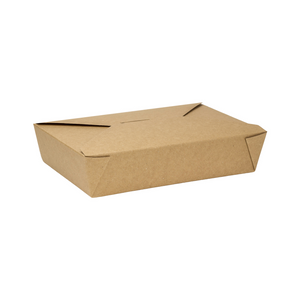 Microwavable Paper Fold Box - CarryOut Supplies
