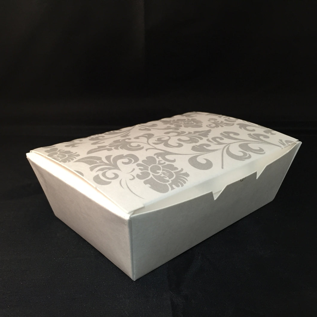 Custom Printed Paper Lunch Box - CarryOut Supplies