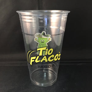 Custom Printed Cold Drink PET Cup - CarryOut Supplies