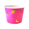 16 OZ. PAPER YOGURT CUPS, PINK FRUIT PATTERN - 1,000 PCS/CS - CarryOut Supplies