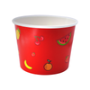16 OZ. PAPER YOGURT CUPS, RED FRUIT PATTERN - 1,000 PCS/CS - CarryOut Supplies