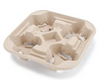 4 - CUP MOLDED FIBER CARRIER, 100 PCS - CarryOut Supplies