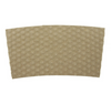 10 - 24 OZ. PAPER HOT CUP SLEEVE, KRAFT HEX-TEXTURED - 1,000 PCS/CS - CarryOut Supplies